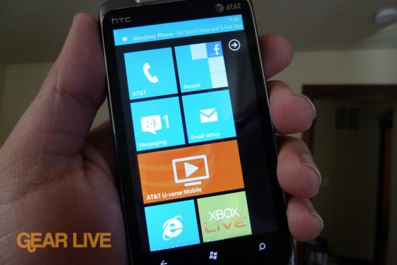 HTC Surround Windows Phone 7 review