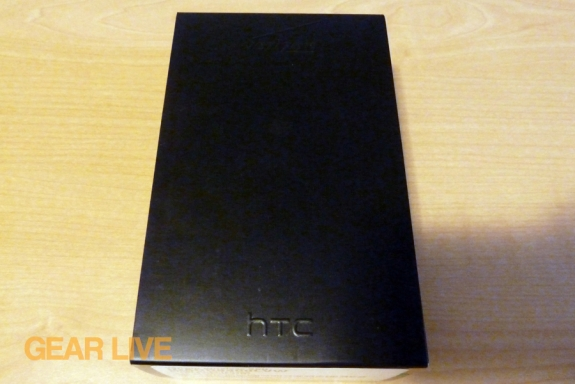 HTC Thunderbolt box