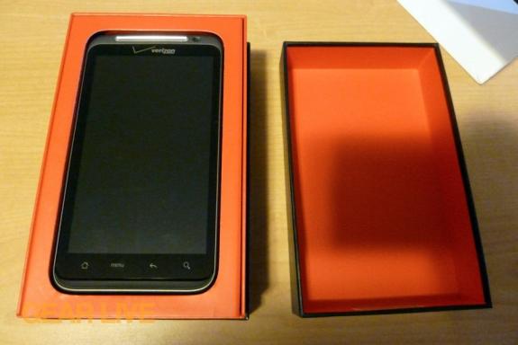 HTC Thunderbolt in box