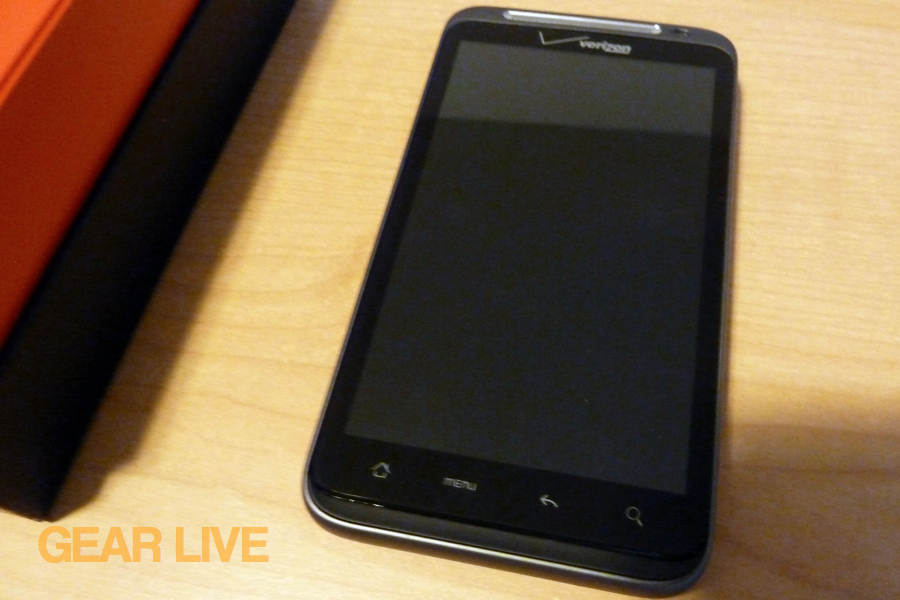 HTC Thunderbolt out of box