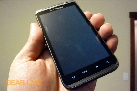 HTC Thunderbolt in-hand