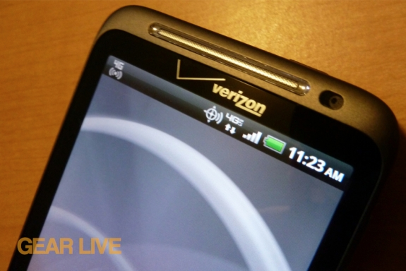 HTC Thunderbolt 4G LTE connection