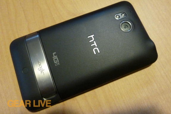 HTC Thunderbolt rear