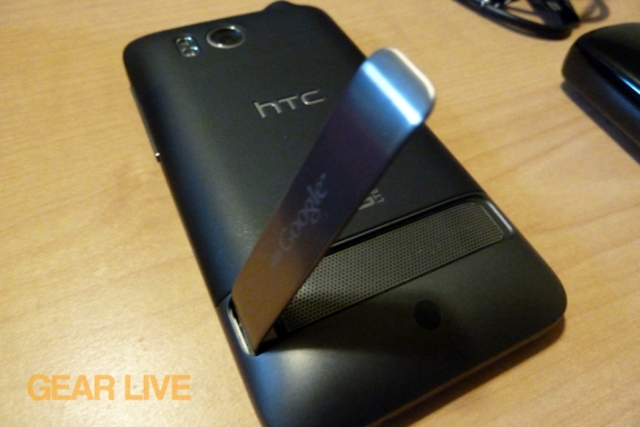 HTC Thunderbolt kickstand