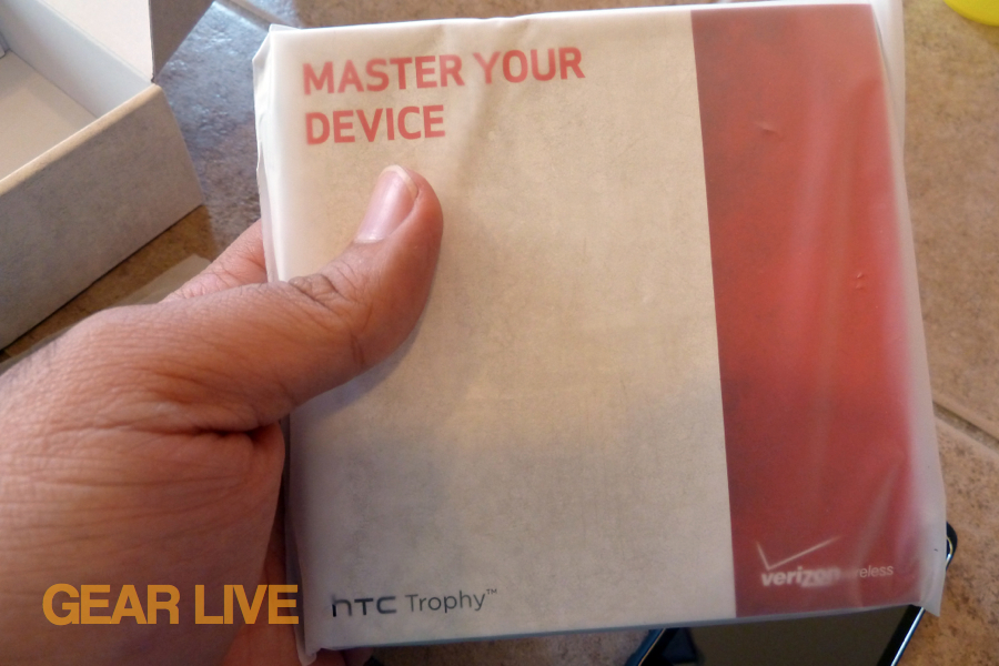 HTC Trophy manual
