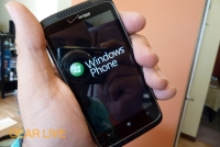 HTC Trophy Windows Phone boot-up
