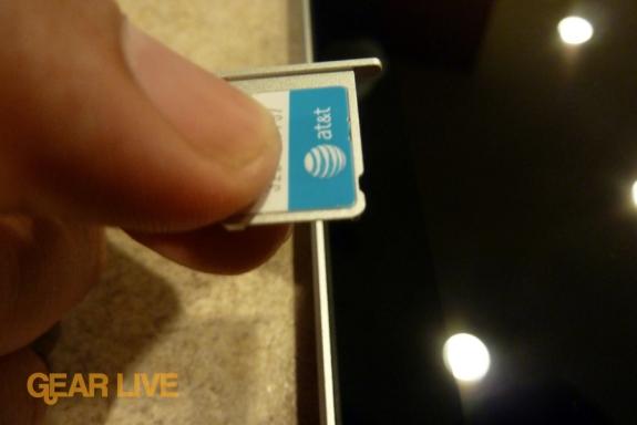 iPad 3G AT&T 3G MicroSIM