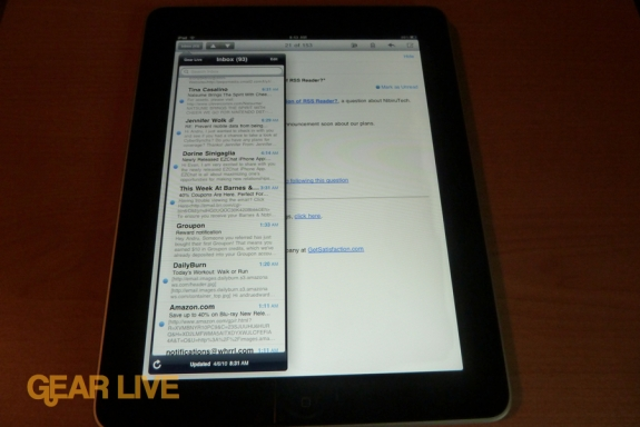 iPad Mail review