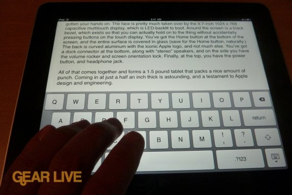 iPad apps: Pages