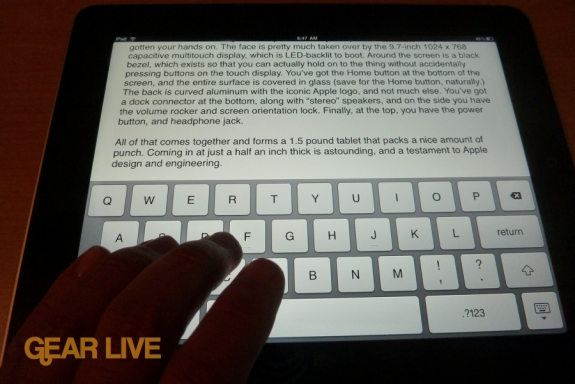 iPad Pages review
