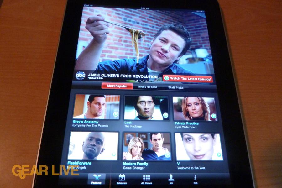 iPad apps: ABC Player
