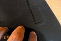 Apple iPad case latch