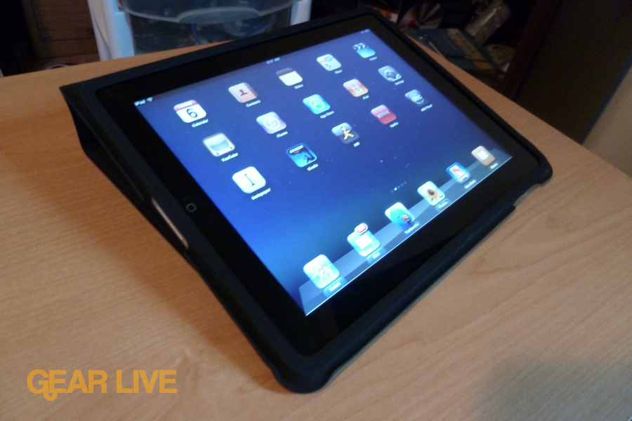 Apple iPad case: Typing stand