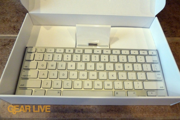 iPad Keyboard Dock in box