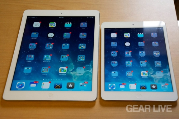 iPad Air mini retina A7 processor