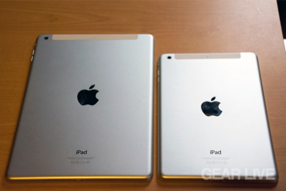 Retina iPad mini & iPad Air rear casing