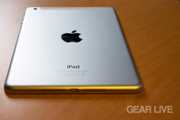Retina iPad mini rear casing