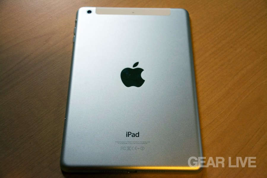 Retina iPad mini back