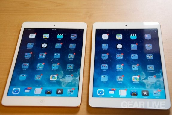 iPad mini vs iPad mini with Retina display