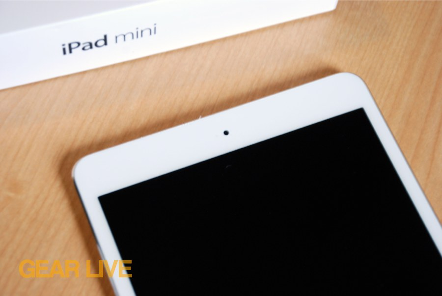 iPad mini FaceTime HD camera