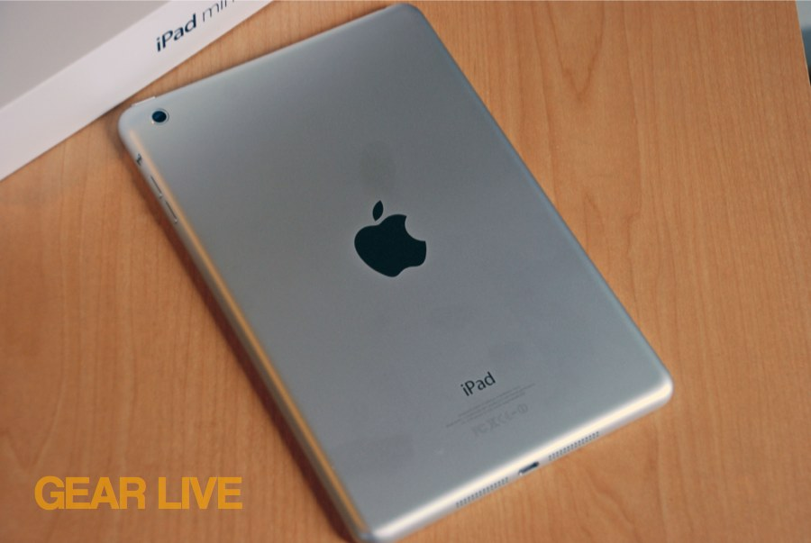 iPad mini back