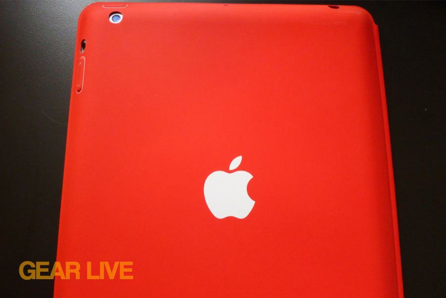 iPad Smart Case back