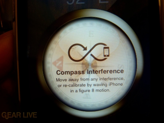 iPhone 3G S Apps: Compass Interference