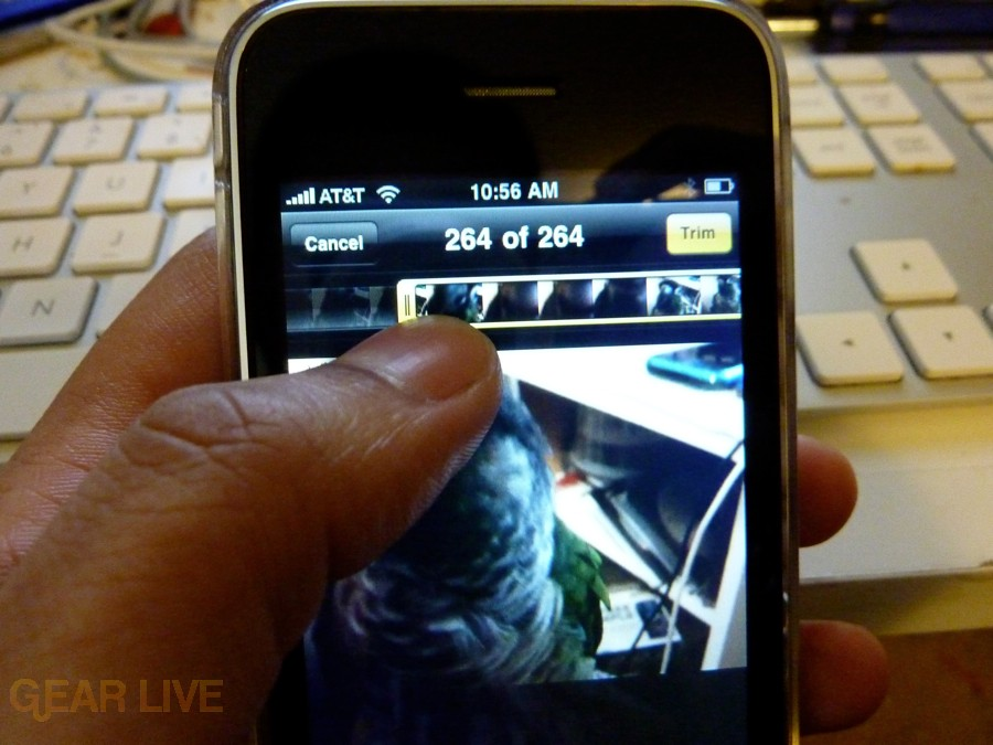 iPhone 3G S Apps: Video editing