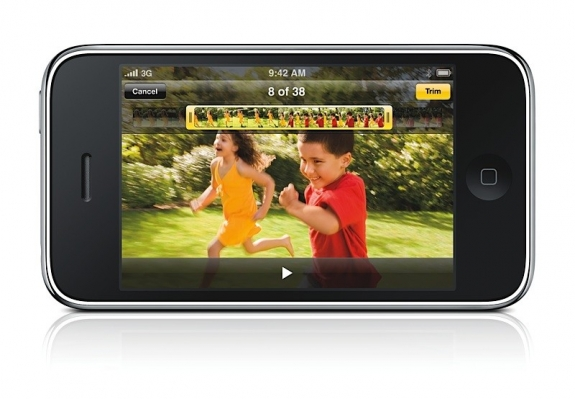 iPhone 3G S video recording and editing