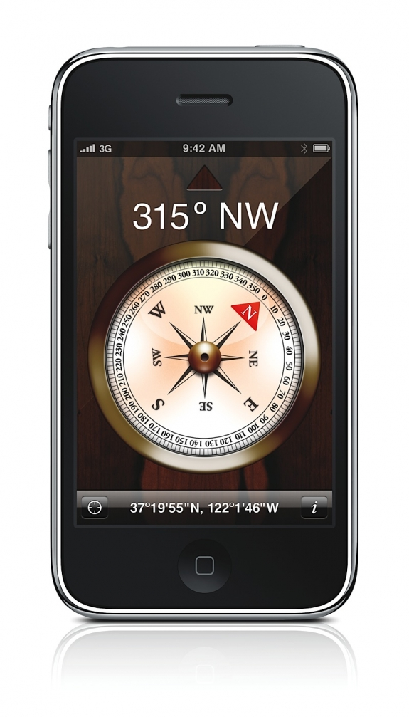 iPhone 3G S compass