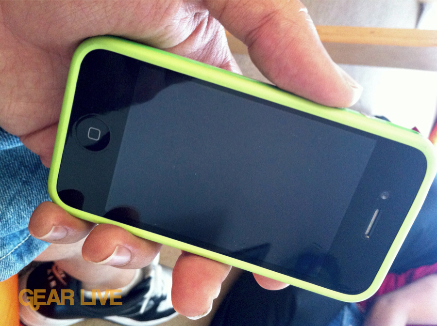 Green iPhone 4 Bumper Case