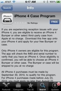iPhone 4 Case Program app details