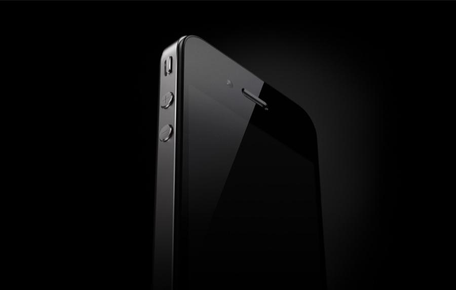 iPhone 4 diagonal shot