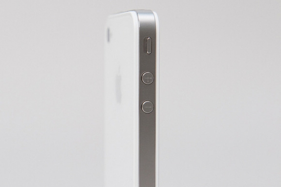 White iPhone 4 volume buttons