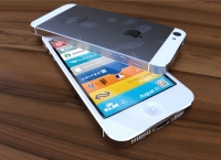 White iPhone 5 top and bottom