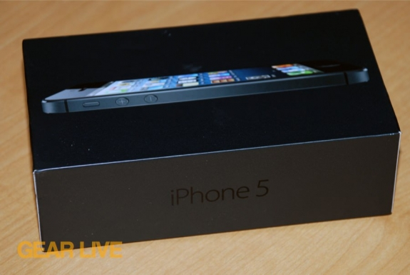 iPhone 5 black & slate box