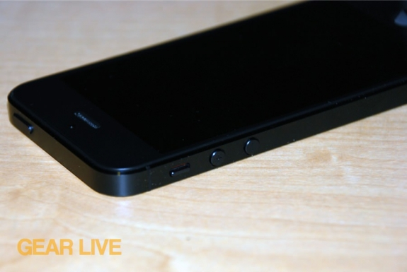 iPhone 5 black & slate top right