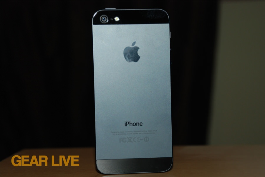 iPhone 5 black & slate back