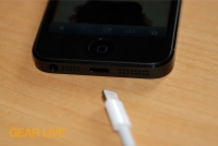 iPhone 5 black & slate Lightning cable