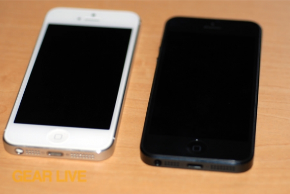 Black & White iPhone 5 front
