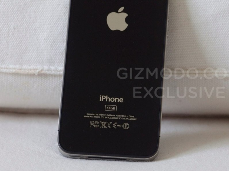 iPhone HD glass back