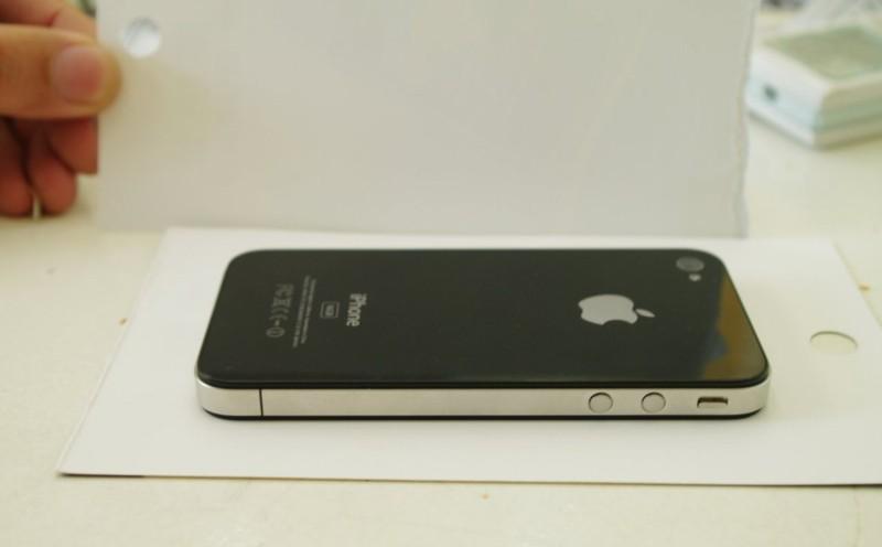 iPhone HD volume controls