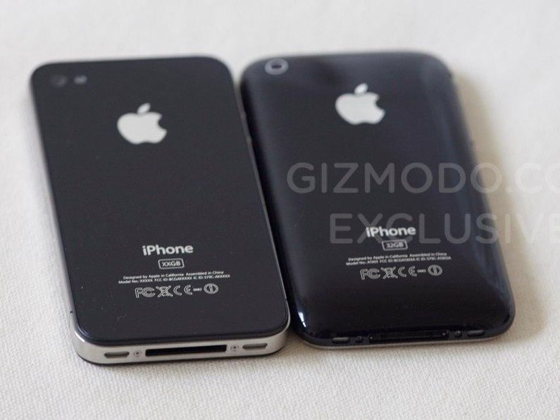 iPhone HD vs iPhone 3GS: The back