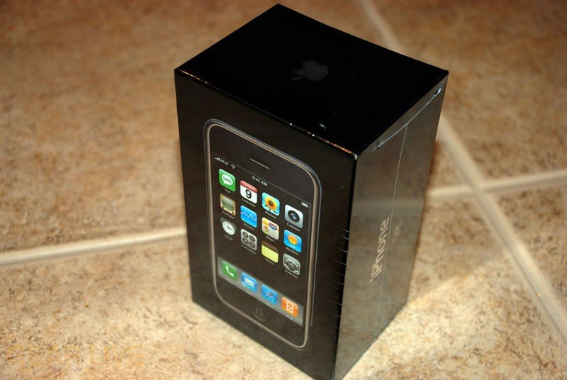 Another View of iPhone Box