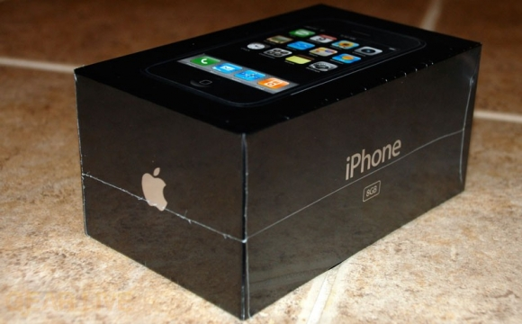 Side View of iPhone Box