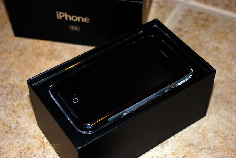 Alternate Shot of iPhone in Box