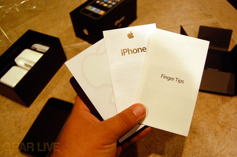 iPhone Booklets