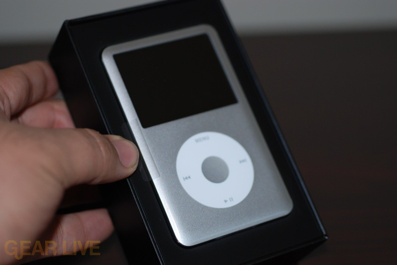 iPod classic in Box