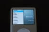 iPod classic Welcome Screen