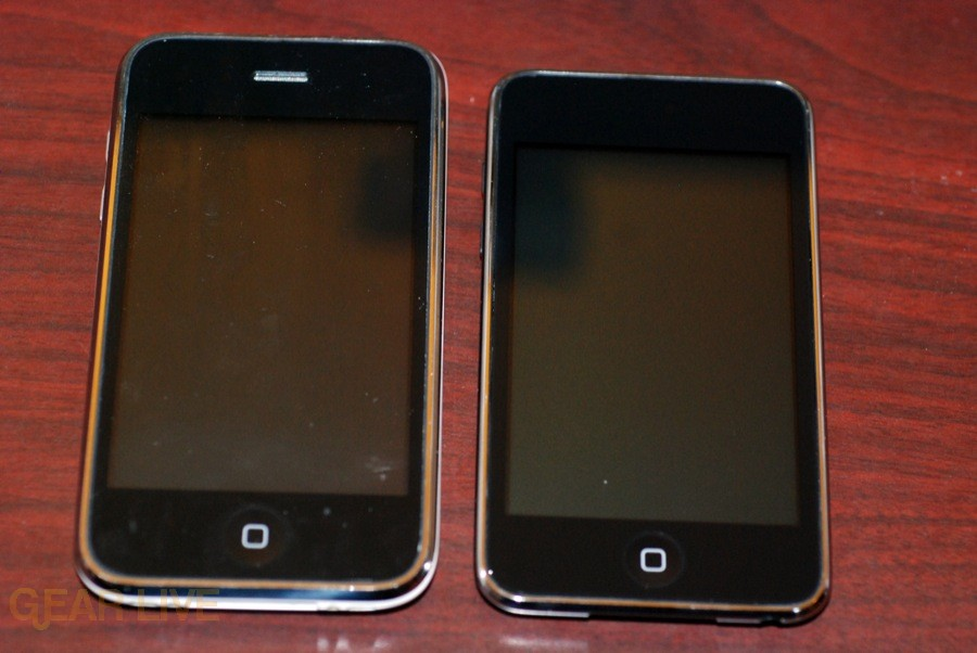 iPod touch 2G vs iPhone 3G